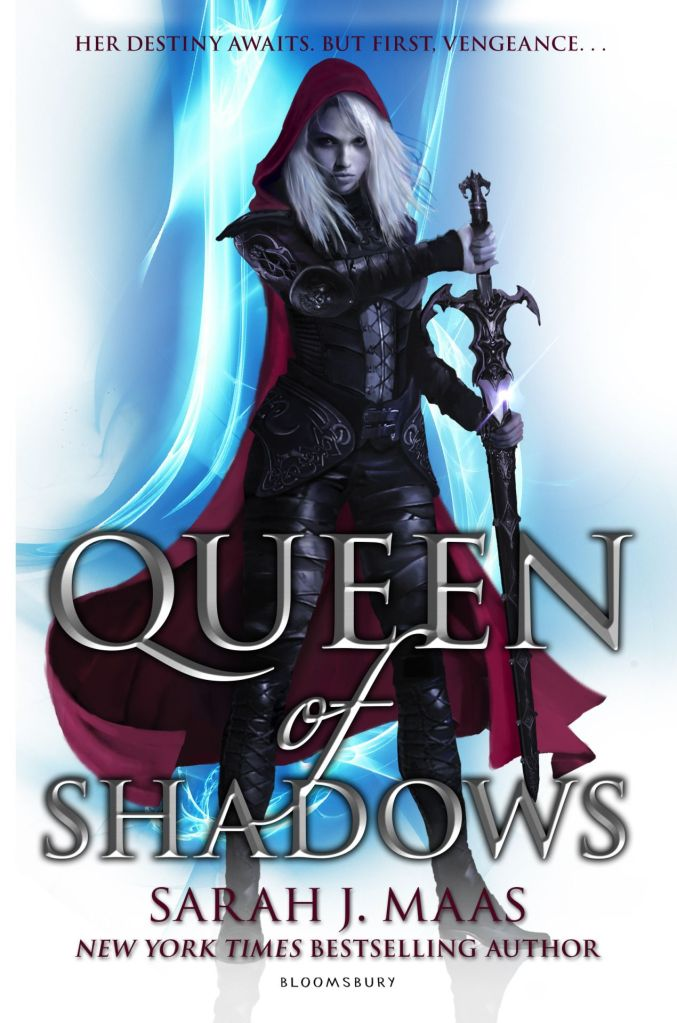 Book cover of Queen of Shadows